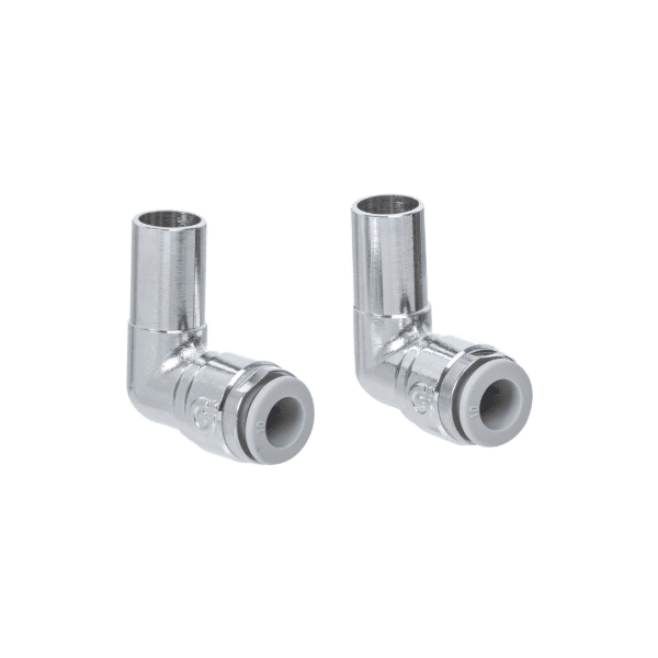Altecnic 15mm Plain Tail x 15mm Pushfit Elbow (Pair)