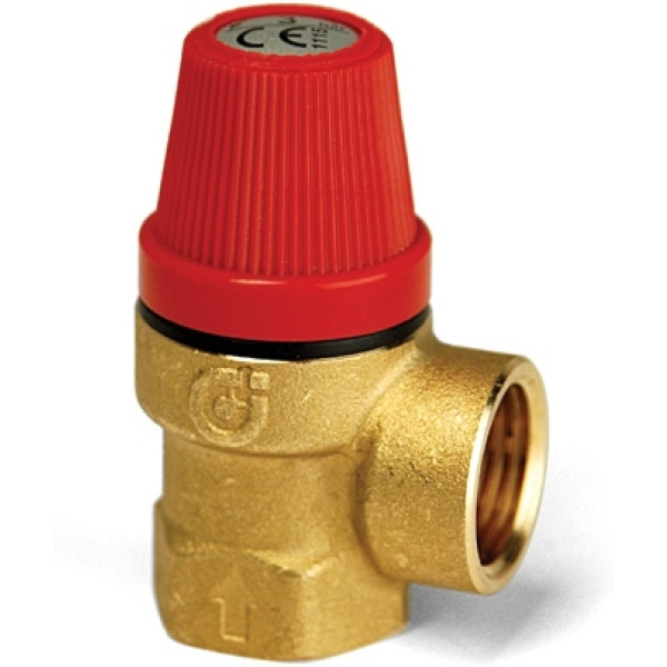 "Altecnic 3/4"" F/F 3 Bar Safety Relief Valve"