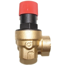 Altecnic 6 Bar F/F Safety Valve 1/2""