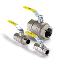 Altecnic Intaball Lever Operated Ball Valve For Gas 22mm