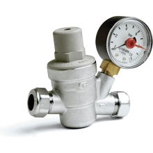 Altecnic Pressure Reducer/Gauge 22mm
