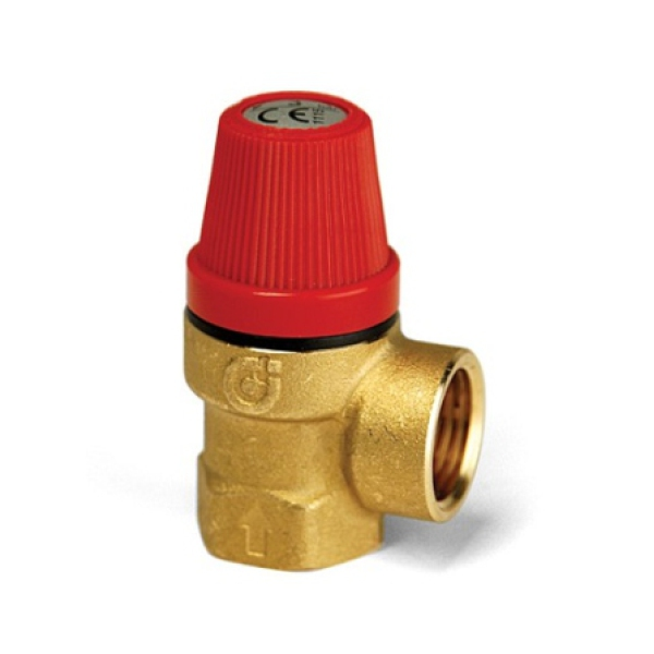 "Altecnic Safety Valve 1/2"" 3 Bar"