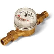 "Altecnic 1/2"" USF Super Dry, Single Jet Water Meter"