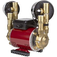 Amazon Twin Regenerative 3.0 Bar Universal Brass Shower Pump