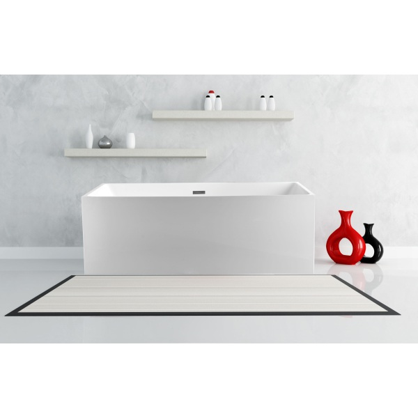 Appleby Freestanding Square Bath 1700 x 800 x 580mm