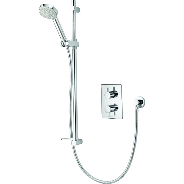 Aqualisa Dream DCV Thermostatic Mixer Shower with Adjustable Head HP/Combi - Chrome