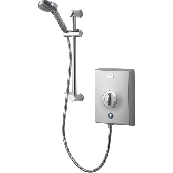 Aqualisa Quartz 10.5kW Electric Shower with Adjustable Head - Chrome