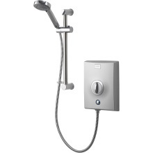 Aqualisa Quartz 8.5kW Electric Shower with Adjustable Head - Chrome