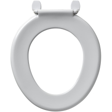 Armitage Shanks Bakasan Toilet Seat With Stainless Steel Rod & Plastic Hinges No Cover White