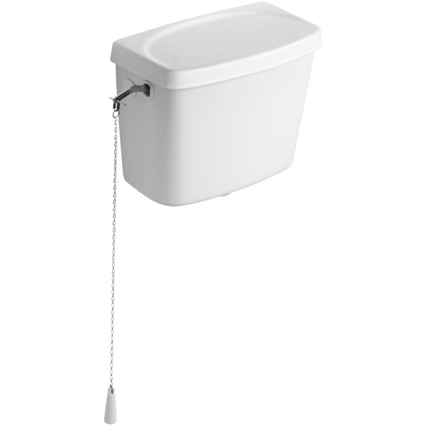 Armitage Shanks Clena High Level Side Inlet Cistern With Fittings
