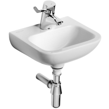 Armitage Shanks Contour 21 Hand Rinse Basin 370mm No Overflow Or Chain Hole One Centre Taphole White