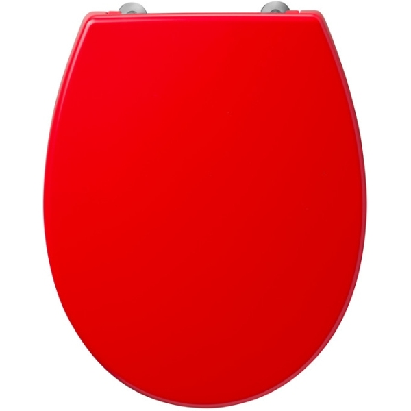 Armitage Shanks Contour 21 Small Toilet Seat For 305mm High Pan No Cover Bottom Fixing Hinges Red