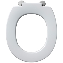 Armitage Shanks Contour 21 Standard Toilet Seat With Retaining Buffers No Cover Top Fixing Hinges