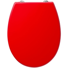 Armitage Shanks Contour 21 Standard Toilet Seat & Cover Bottom Fixing Hinges Red