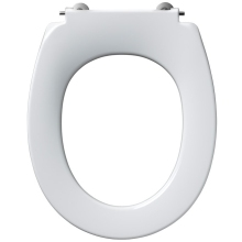 Armitage Shanks Contour 21 Standard Toilet Seat With Retaining Buffers No Cover Bottom Fixing Hinges