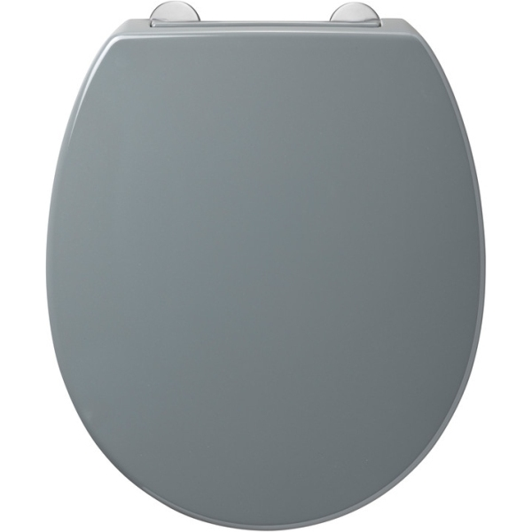 Armitage Shanks Contour 21 Standard Toilet Seat & Cover Top Fixing Hinges Grey