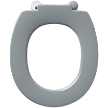 Armitage Shanks Contour 21 Standard Toilet Seat With Retaining Buffers No Cover Top Fixing Hinges Grey