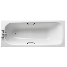 Armitage Shanks Sandringham 21 1700 Bath 2 Tap Hole TG Anti-Slip White