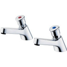 "Armitage Shanks Sandringham 21 Self Closing Pillar Taps 1/2"" (Pair)"