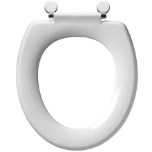 Armitage Shanks Sandringham Orion Plus Toilet Seat With Removable Stainless Steel Fittings No Cover White
