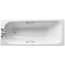 As Sand Steel Bath 1700 2Th TG Wht