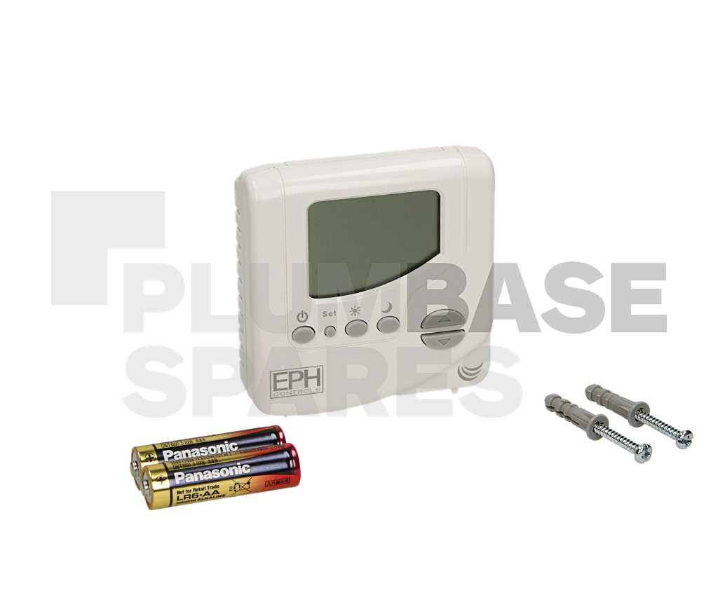 Battery Powered Digital Room Thermostat CRT