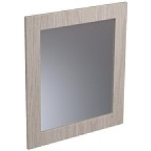 Atlanta 600mm Tall Framed Mirror Matt White