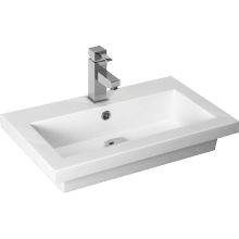 Atlanta Breeze Sit-on Basin 710mm