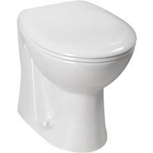 Atlanta Cadiz Back To Wall Pan - White