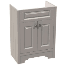 Atlanta Classic Basin Unit 600mm Stone Grey