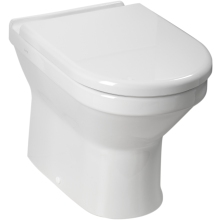 Atlanta Forino Back To Wall WC Pan - White