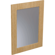 Atlanta Tall Framed Mirror 700mm Cream Gloss