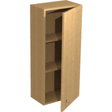 Atlanta Tall Wall Unit 350mm Cool Grey Premium