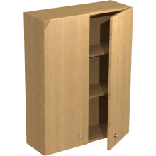 Atlanta Tall Wall Unit 600mm Pescara Premium