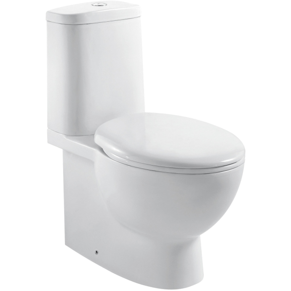 Aura Aroza C/C Pan with Soft Close Seat and Cistern