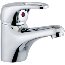 Aura Auris Mono Basin Mixer with Pop up Waste. Chrome Plated