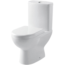 Aura Laredo Short Projection Pan Soft Close Seat and Cistern