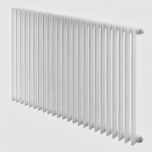 Barlo Adagio 35 Single Designer Radiator 600x840mm White