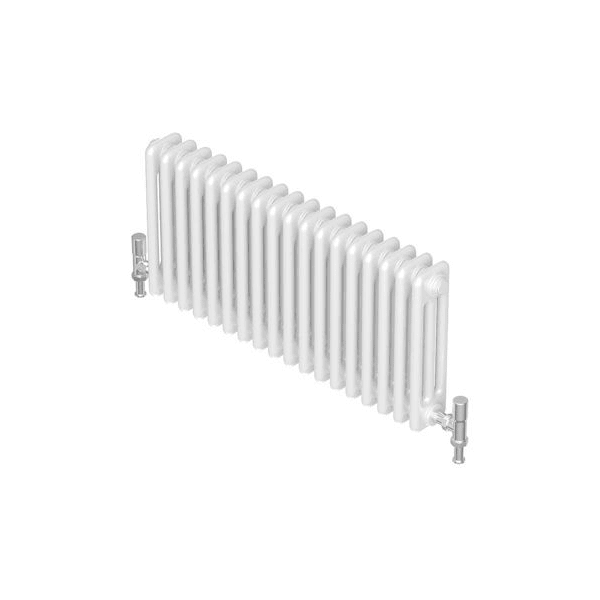 Barlo Forza 3 Column Horizontal Radiator 750x1012mm White