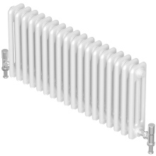 Barlo Forza 2 Column Horizontal Radiator 600x552mm White