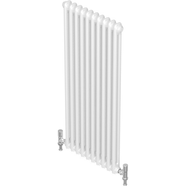 Barlo Forza 750mm x 1380mm Horizontal 4 Column - White