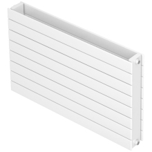 Barlo Slieve T22 433 x 1200mm Double Panel Designer Radiator - White