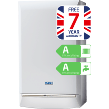 BAXI DUOTEC 33KW HE A COMBI BLR 7YR ERP