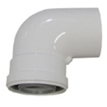 Baxi Multi-Fit Flue Bend 93 Degrees HE60/100 White
