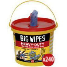 BIG WIPES HEAVY DUTY BUCKET (240)