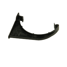 Polypipe 112mm Half Round Fascia Bracket Black