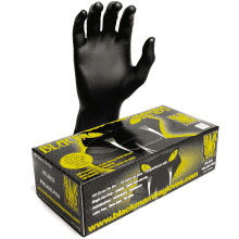 Black Mamba Nitrile Safety Gloves Extra Large Box 100's