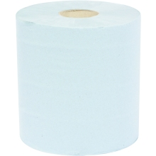 Blue Paper Roll 2 Ply Single Roll