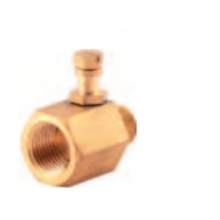 "Brass Test Point Adaptor 1/2"" Lpg BTPA04K"