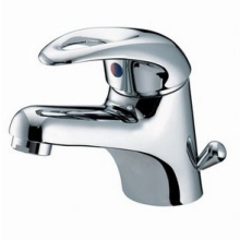 Bristan 110mm x 115mm Java Basin Mixer with Side Action Pop-Up Waste Chrome